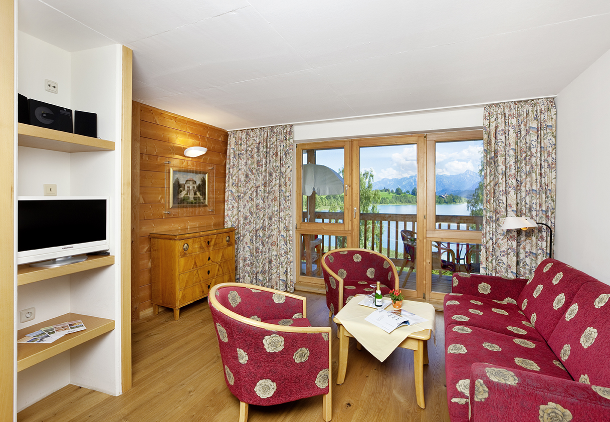 3-room-apartment at the aparthotel Seespitz in Füssen