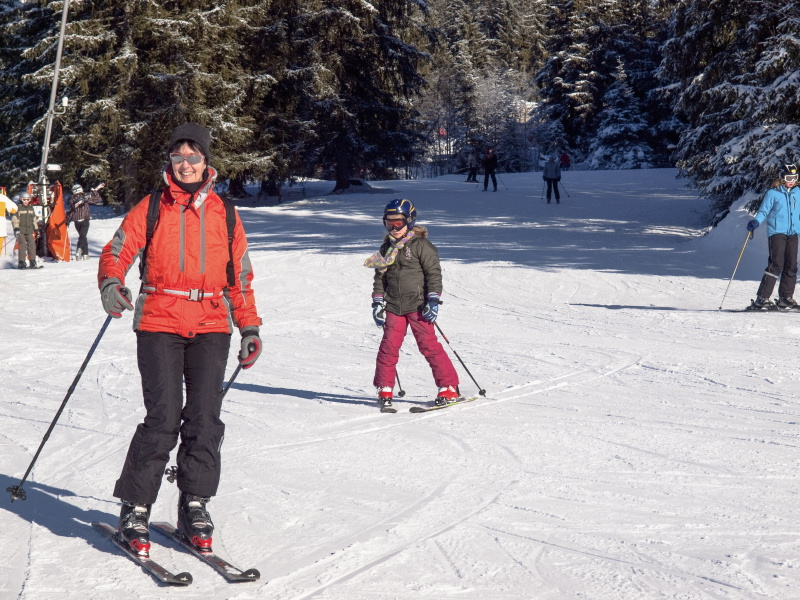 Skiing in the Allgoi