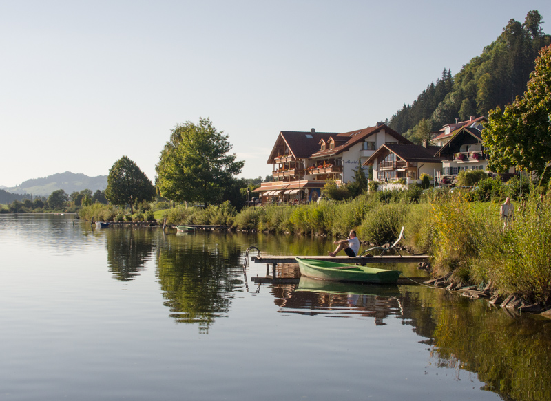 Hopfensee in Füssen, Ortsteil Hopfen im Allgäu