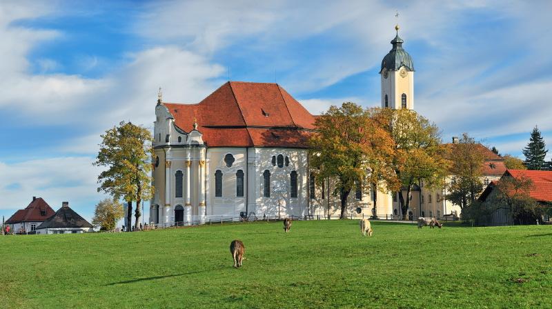 Wieskirche near by Fuessen
