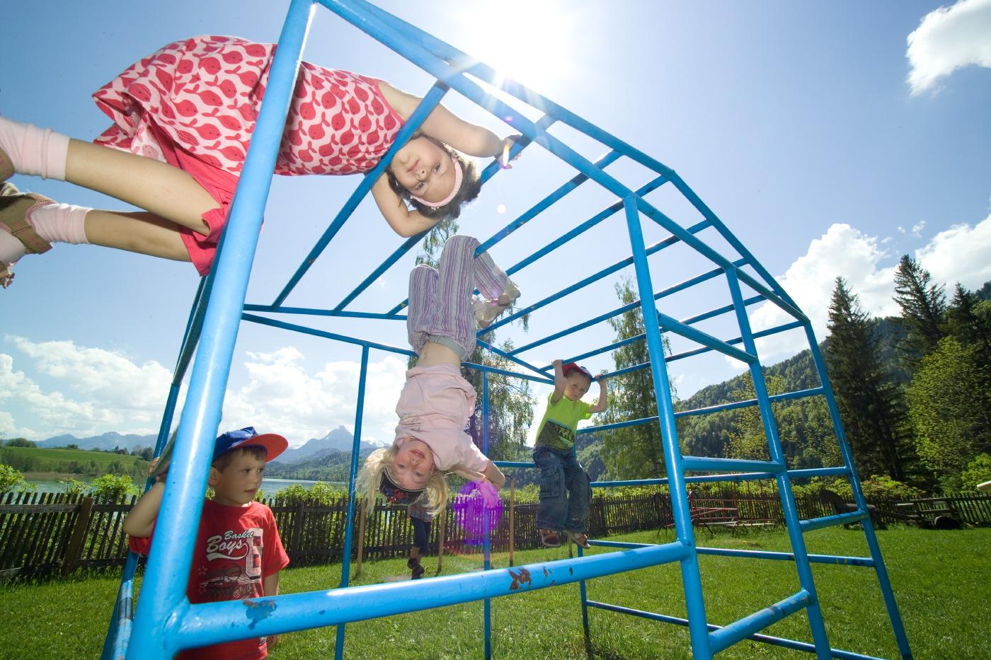 Kinderspielplatz im Appartementhotel Seespitz