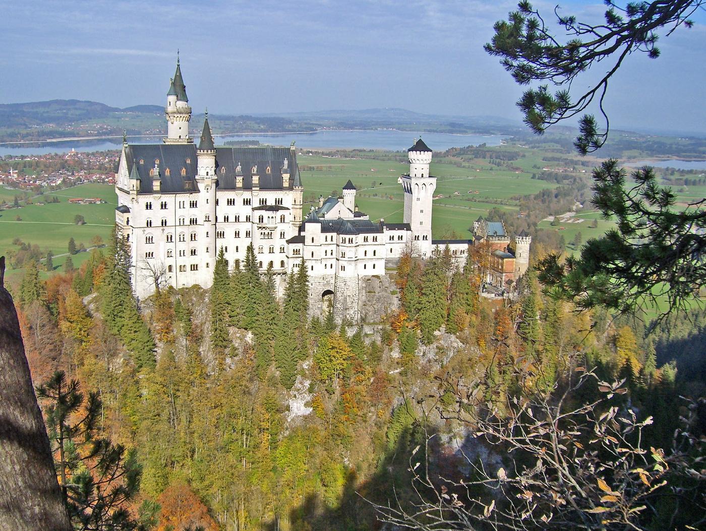 Schloss Neuschwanstein nahe Aparthotel Seespitz