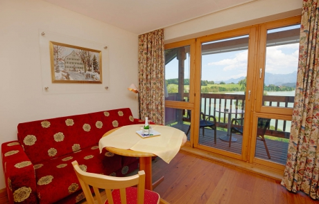 1-room apartments at Apartmenthotel Seespitz in Fussen