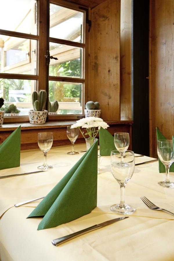 Restaurant Osteria im aparthotel Seespitz