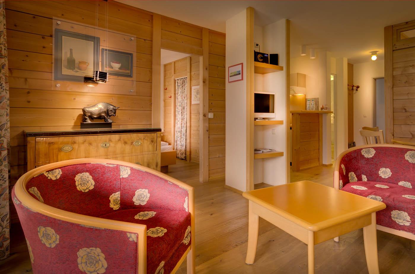 Dreizimmer-Appartement mit 4 Sternen im Appartementhotel Seespitz in Füssen