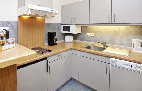 Küche 3-Zimmer-Appartement