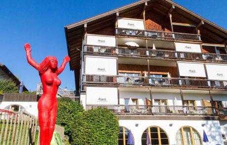 Kunst im Appartementhotel Seespitz Füssen