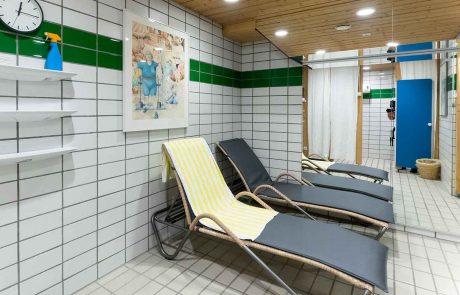 Der Ruheraum im Seespitz-Wellnessbereich