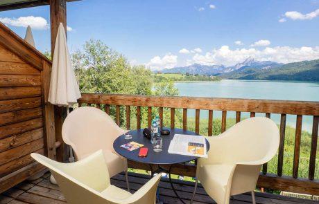 Der Ausblick vom Seespitz-Balkon – einfach ein Traum