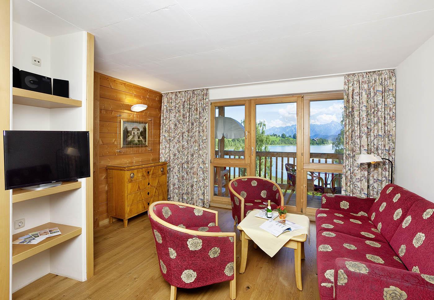 Seespitz-3-Zimmer-Appartement-Ferienwohnung in Traumlage